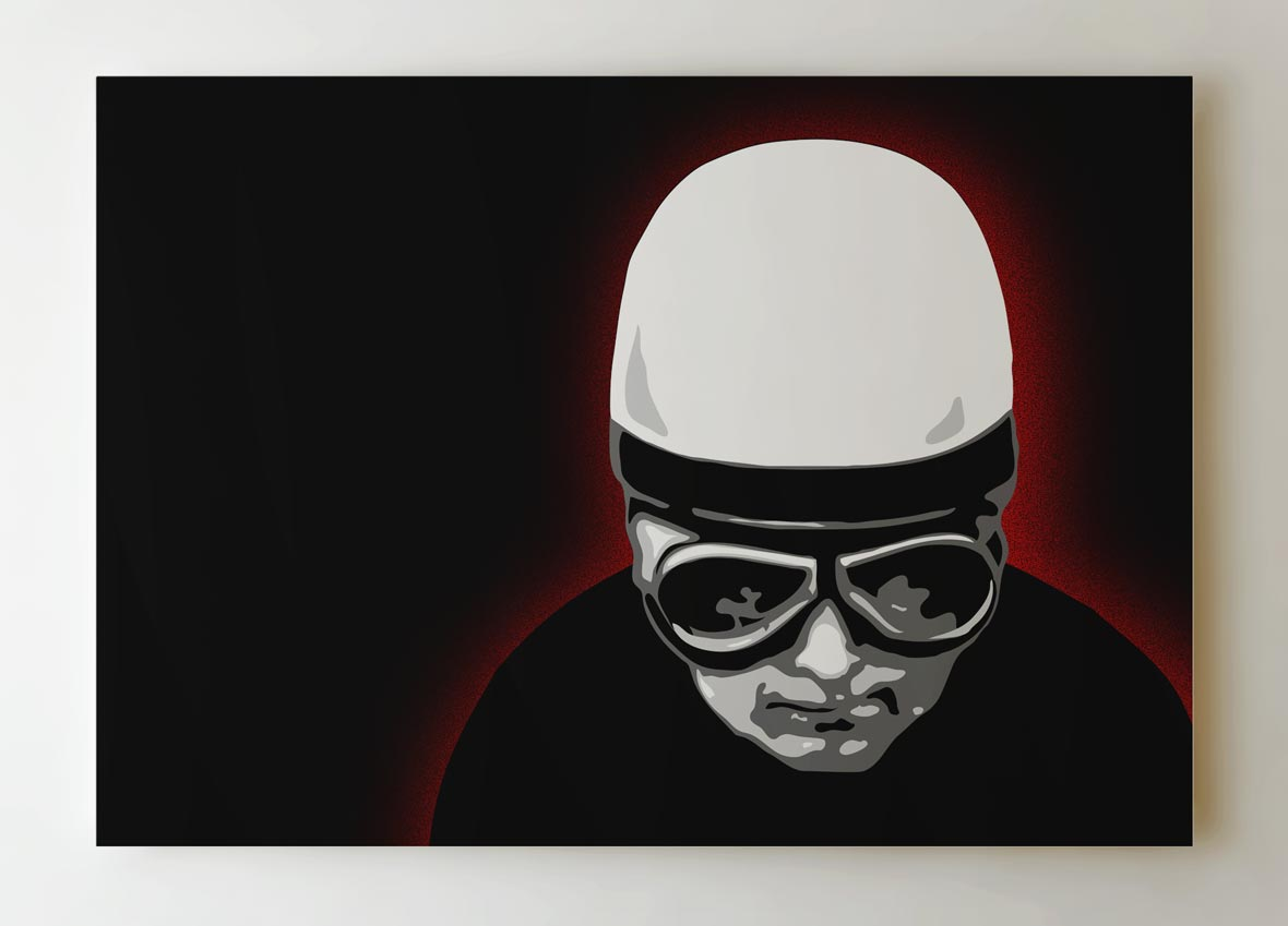 motorcycle-rider-canvas