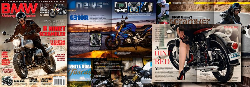 BMW Motorcycle Magazine, Spring 2016