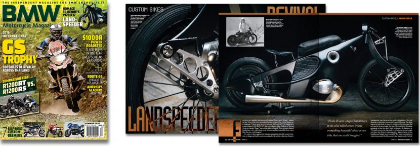 BMW Motorcycle Magazine, Summer 2016