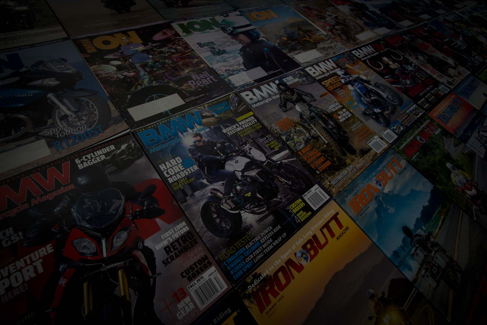 Magazine covers image