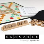 Scrabble Typography 3rd Edition